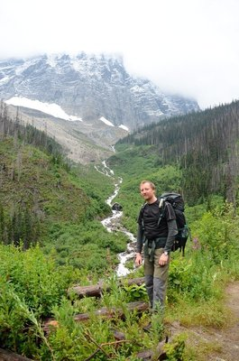 Me, on Floe Creek trail