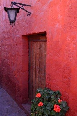 Door, Santa Catalina Monastery