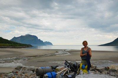 Anna fellow cyclist