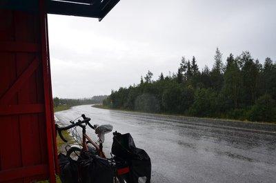 Rain along E45