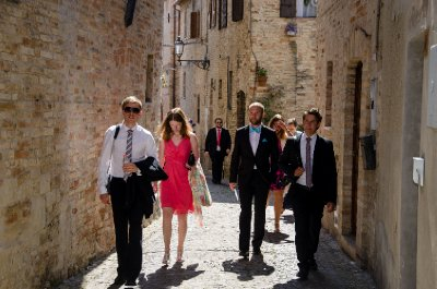 Wedding guests, Torre di Palme