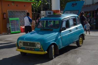 Renault R4 taxi