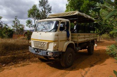 Saviem Truck, camion-brousse