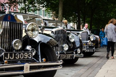 Rolls Royce Enthusiasts' Club display