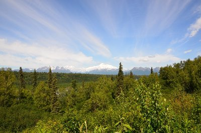 Denali view from the south