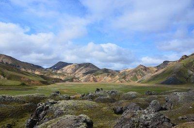 Þjórsárdalur near Landmannalaugur