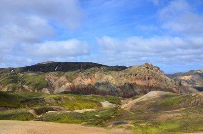 Landscape near Landmannalaugur