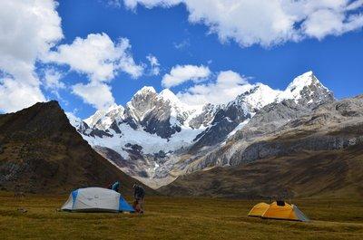 Campsite below Jirishanka