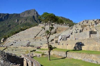 Machu Picchu and Machu Picchu mountain