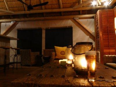 Dolomite Camp lounge