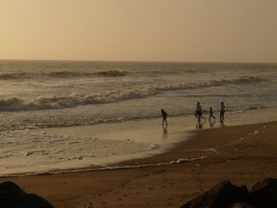 Namib family, Swakopmund beach