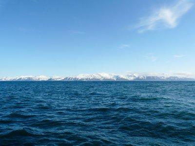 Isfjorden landscape
