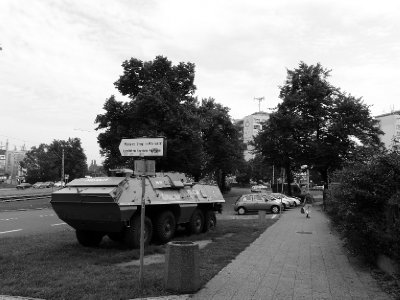 Armoured vehicle, Gdansk