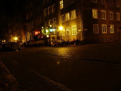 Gdansk nightlife, Chlebnicka street