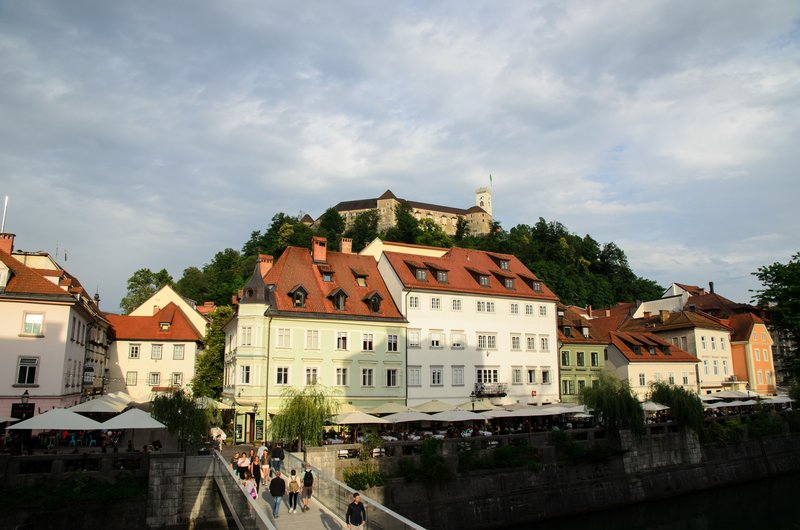 Ljubljana and Ljubljana castle