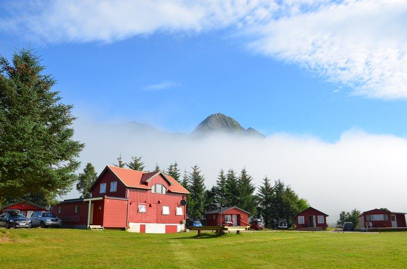 Morning fog Reipå camping