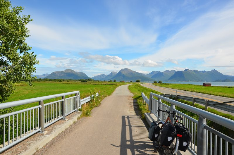 Great cycling landscape at Langøya