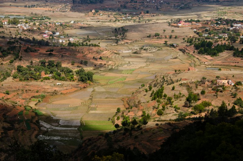 View from the Royal Hill of Ambohimanga