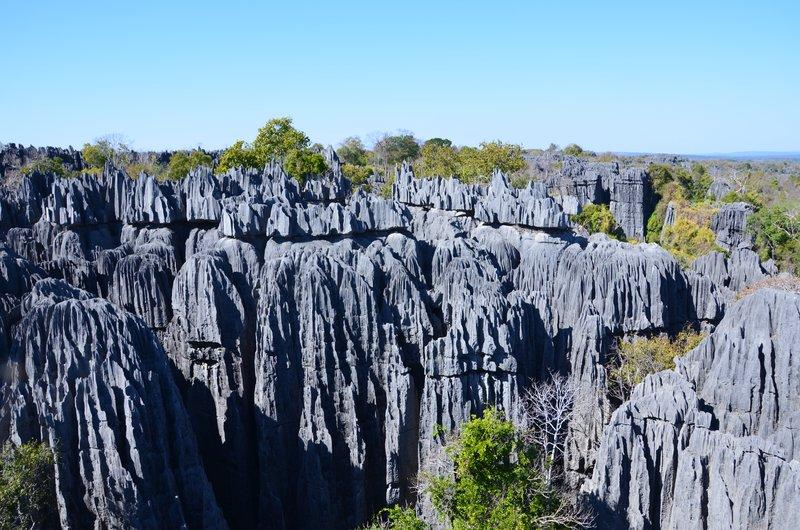 Big Tsingy landscape