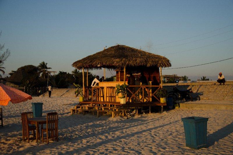Morondava beach bar
