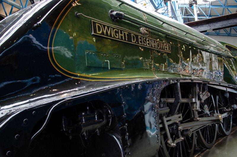 LNER Class A4 4496 Dwight D Eisenhower
