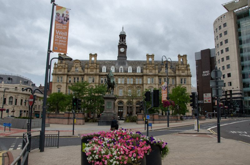 Old Post Office and Black Prince Statue, Leeds