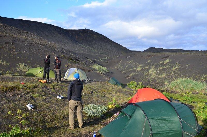 Botnar campsite on Laugavegur