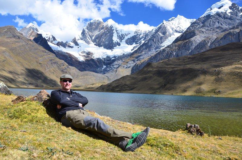 Me, Mitococha lake