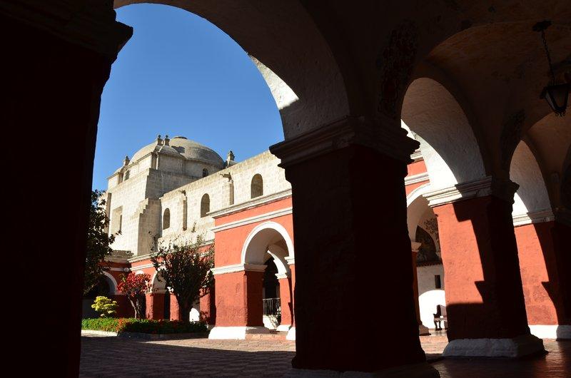 Temple Dome and Nave, Santa Catalina Monastery