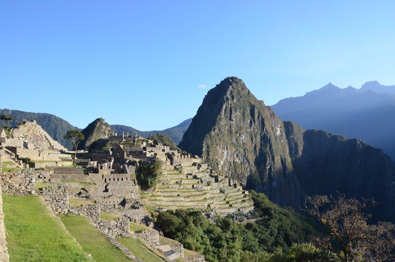 Machu Picchu urban sector