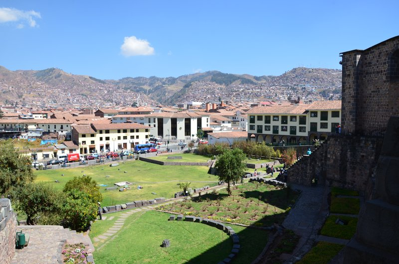 Sagrado garden, Cusco