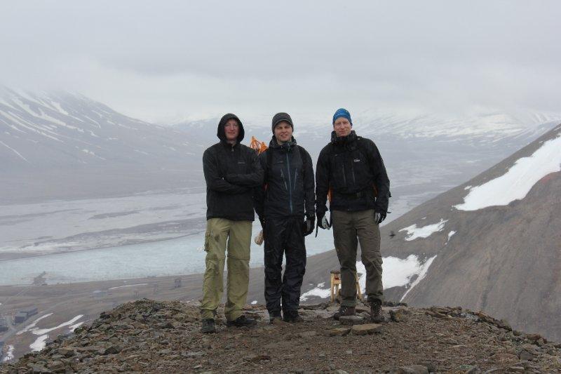 Above Longyearbyen