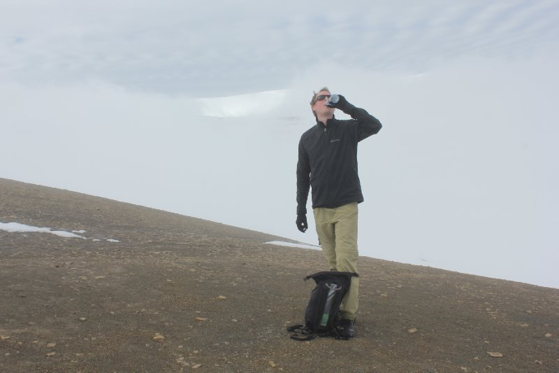 Rehydrating, Trollsteinen hike