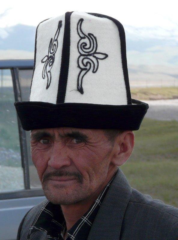 Kyrgyz man, Sary Tash