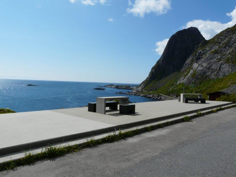 Rastplats utanför Hamnøy
