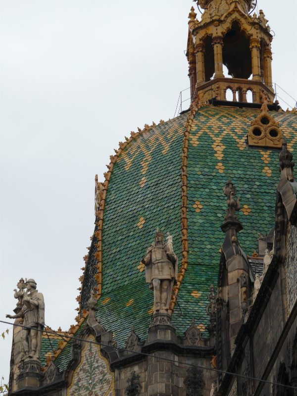 Roof of the Museum of Applied Arts