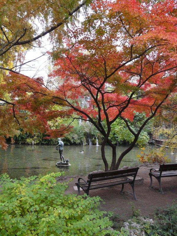 Margitsziget park, Japanese garden
