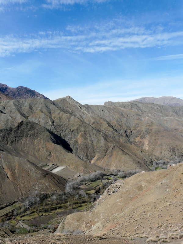 View near Tizi n´Tichka