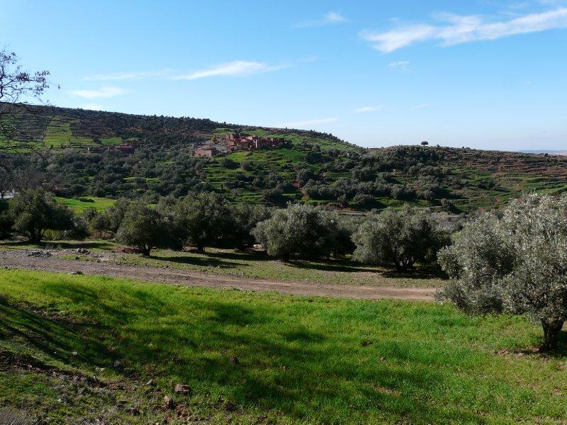 Village, Atlas mountain