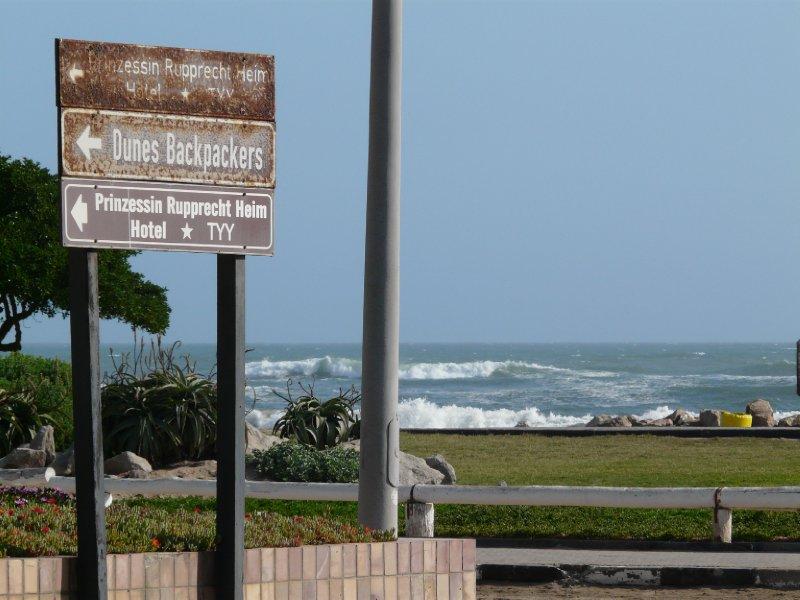 Rusty signs, Swakopmund