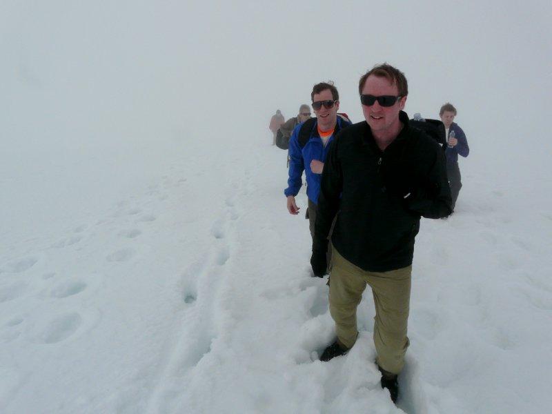 Ascent, Trollsteinen hike