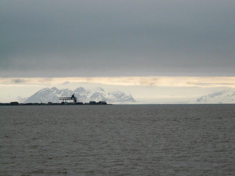 View from Longyearbyen