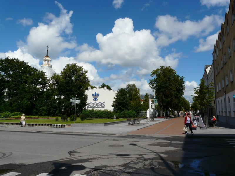 Daugavpils main pedestrian street