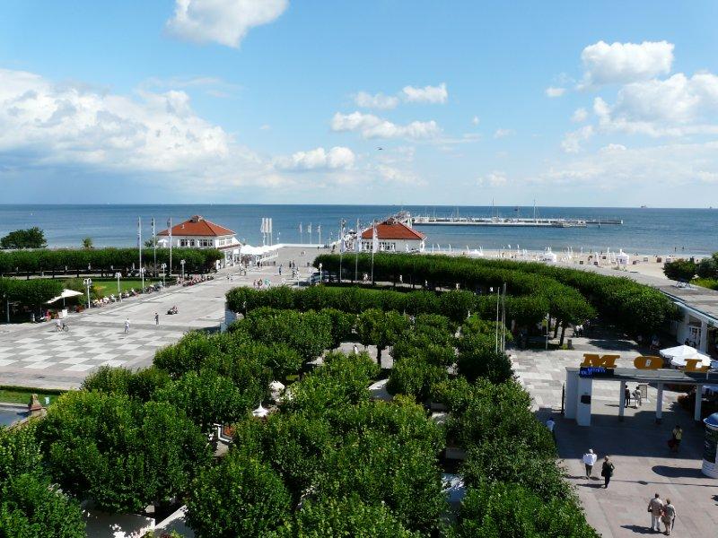 Sopot Pier area