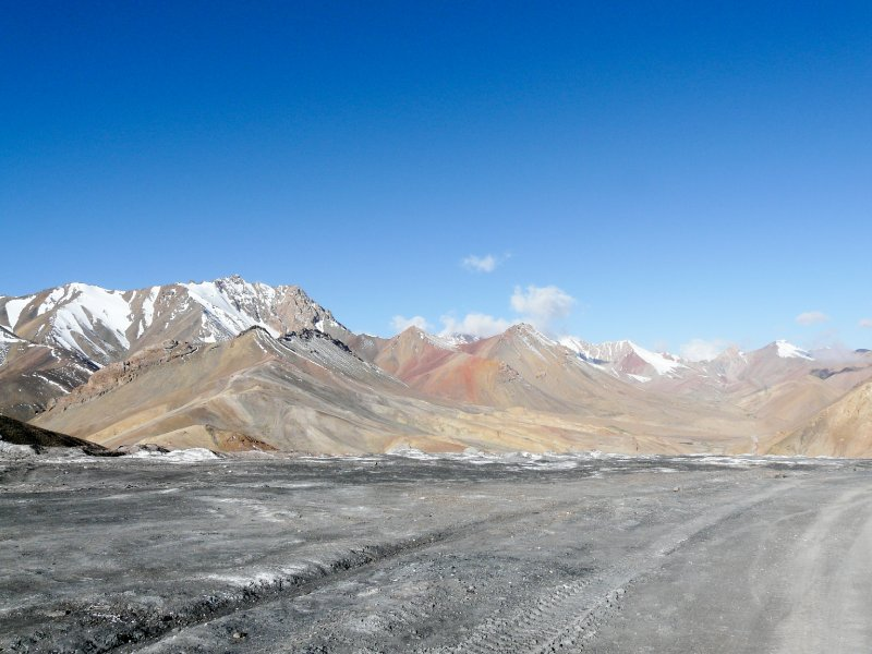 View from the top of the Ak-Baital pass