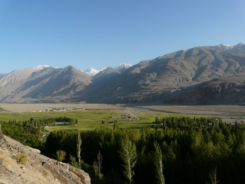 Wakhan Valley view from Ishkashim