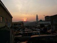 Sunset over Kigali