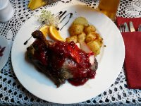 Duck in Cranberry sauce, Restauracja Gdańska