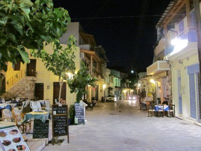 Kritsa by night