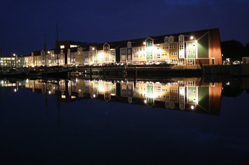 Harbour houses
